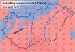 Légnyomás térkép